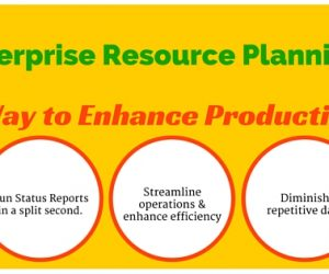 Enterprise Resource Planning ERP – A Way to Enhance Productivity.