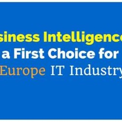 Business Intelligence is a First Choice for Europe IT Industry