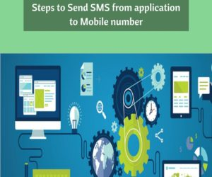 Steps to Send SMS from application to Mobile number