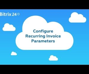 How to set Recurring invoice in Bitrix24