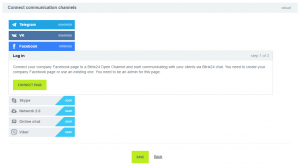 Open channels feature in BitrixCRM for ease out Communication