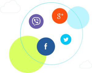 Easily integrate your personal social accounts with bitrix social intranet