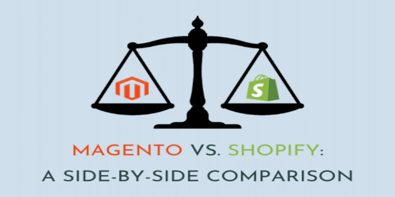Read more about the article Magento vs. Shopify: a Side-by-Side Comparison